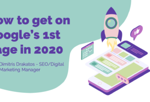 How to get on Google's 1st page in 2020