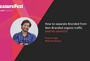 how to separate non-branded organic traffic from the branded one
